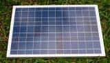 Poli modulo solare 50W per l'indicatore luminoso di via solare