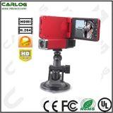"""2.7 """" LCD HD1080Iの二重カメラの動きは携帯用車のビデオレコーダーDVRを検出する"""