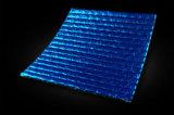 편들어진 알루미늄 호일 역행된 파란 PE에 의하여 입힌 열 절연재를 골라낸다