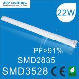 22W 2g11 LED-Röhre/PL-Leuchte mit CE RoHS