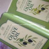 L'acciaio del metallo può per l'imballaggio del 1liter dell'olio di oliva