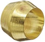 """Komprimierung-Hülse, Ca360 Messing, 1/4 """" Gefäß-Außendurchmesser, 0.3400 """" Hülsen-Außendurchmesser"""