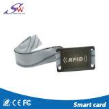 Bracelet d'identification d'IDENTIFICATION RF de tissu tissé par nylon