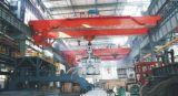 LuchtKraan van de Gietlepel van de Balk van het Type van Yz de Dubbele met de Elektrische Opheffende Machines van het Hijstoestel