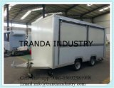 De nieuwe Hete Aanhangwagen van het Snelle Voedsel van de Straat van de Verkoop/de Aanhangwagen van de Vrachtwagen van het Voedsel/Aanhangwagen van het Voedsel van Australië de Standaard Mobiele