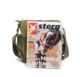 Горячая продажа хорошее качество вощеной Canvas Postmen сумка Messenger для школы