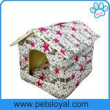 Casa colorida al por mayor directa del animal doméstico del perro de los accesorios del animal doméstico de la fábrica