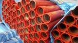 Труба ERW безшовная стальная с Grooved красным цветом картины