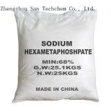 Hexamétaphosphate de sodium SHMP 68% pour l'adoucissant