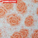 Camelsteel fournissent la tôle d'acier magnifique de couleur de modèle de configuration de fleur