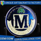 La moneta su ordinazione dello smalto per il getto in lega di zinco dei regali del ricordo ha personalizzato