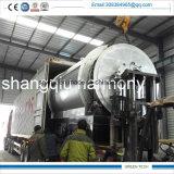 Machine de pyrolyse miniature de 2-3 tonnes pour pneus et déchets plastiques et huileux