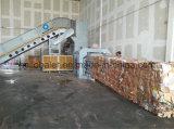8t / H Bala de papel horizontal com correia transportadora Hfa6-8