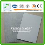 12mmの超明確な酸のガラスサンドブラスティングガラス