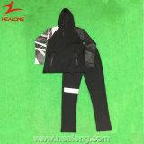 Healong 중국 싼 가격 의복 형식 디자인 승화 체조 Tracksuit