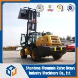 Powerd aller raue Terrtain Gabelstapler mit einer 3.5 Tonnen-Kapazität