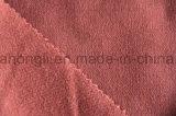De fios de tecido tingidos, sarjado Poli/Rayon tecido escovado, 240gsm