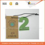 Бирка Hang совершенного печатание высокого качества изготовленный на заказ пефорированная
