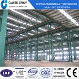 Montagem fácil construir a estrutura de aço acabados/Oficina/Hangar com grua para Serviço Pesado