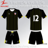 Healongの販売のための安い価格の服装のデジタル印刷の十代の若者たちクラブサッカージャージー