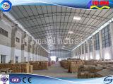 構築のための鉄骨構造の倉庫