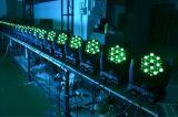 LED 단계 빛 36*3W RGBW 광속 LED 이동하는 맨 위 광속 각