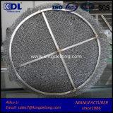 Pista del separador de partículas del acoplamiento de alambre del filtro
