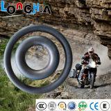 Câmara de ar interna natural da motocicleta do alongamento 450%-550% (2.75-18)