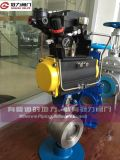 Steel di acciaio inossidabile Pneumatic Ball Valve per Water Treatment
