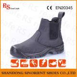 Botas de trabalho pesado Segurança Botas de segurança de sola PU (RS581)