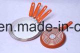 Сковорода покрынная ручкой алюминиевая Non-Stick для Cookware устанавливает Sx-A18