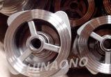 Tipo válvula da bolacha do ANSI de verificação do aço inoxidável de placa dobro