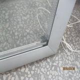 Porte en verre isotherme isolé en PVC pour écran pour refroidisseur d'affichage