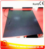 подогреватель силиконовой резины черноты подогревателя покрышки 610*610*7mm электрический