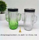 Copo do pedreiro do suco de fruta do frasco de pedreiro da amostra livre 16oz/vidro bebendo
