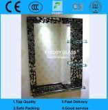 Espejos del cuarto de baño/espejo perfilado/espejo puesto en unidades/espejo de la pared/espejo oval