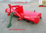 La aplicación de Rotary Rotavator tractor agrícola