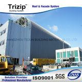 Feuille approuvée de toiture de projet d'aéroport de FM