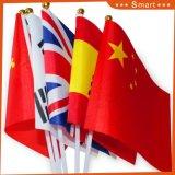 Малые Rainbow полиэфирная ткань Китай стороны флаг