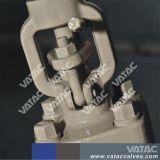 Cl800 la norma ASTM A105 Válvula de compuerta de forjado