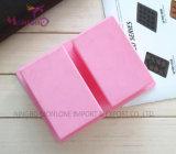 Прессформа 8*5*3.2cm торта прессформы силикона мыла 2-Полости ручной работы