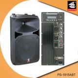 15 Spreker van Bluetooth van de Macht van de duim de Professionele 200W Plastic Actieve met FM pS-1915abt