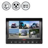 9inch 6CH HD Monitor aufgebaut in DVR