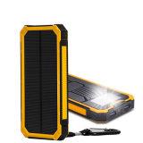 Côté solaire de vente chaud de pouvoir de chargeur de la batterie 10000mAh de téléphone de la Chine