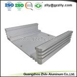 Profil en aluminium/aluminium extrusion équipement audio de voiture pour dissipateur thermique du radiateur avec la norme ISO9001