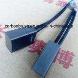 Cepillo de carbón de cobre del fabricante CG651 para el motor
