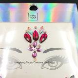 1 Комплект/2ПК с ювелирной органа Блестящие цветные лаки Rhinestone наклейку Tattoo DIY клейкой поверхности ювелирных изделий на наклейке (SR-53)
