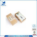 Kundenspezifisches Pappe-Firmenzeichen gedruckter Tee-verpackender Papierkasten
