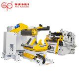 Cadena de producción de las piezas de automóvil máquina del alimentador de la enderezadora del Nc del uso (MAC4-1400H)