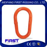 G341 ha forgiato il collegamento di figura della pera con la spruzzatura di plastica